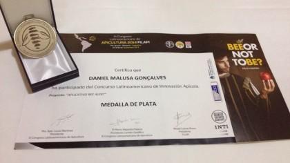 Medalha e Certificado